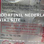 MODAFINIL NEDERLAND WIKI